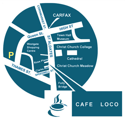 cafe loco map